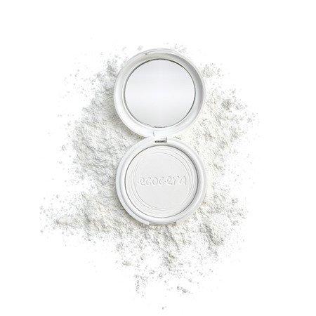 ECOCERA Puder Prasowany Ryżowy dla Cery Tłustej/Mieszanej Kolor Transparentny 10g