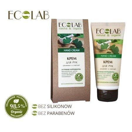 ECOLAB Moisturizing And Softening Hand Cream Nawilżająco-zmiękczający Krem Do Rąk 100ml