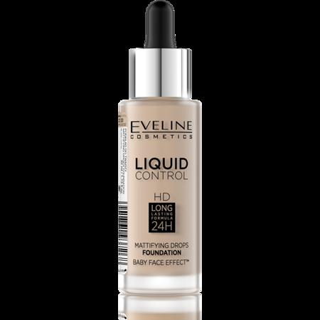 EVELINE Podkład Liquid Control Hd 030 Sand Beige 30ml