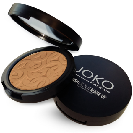 JOKO Puder Finish Your Make-up Puder Prasowany 14 Brzoskwiniowy