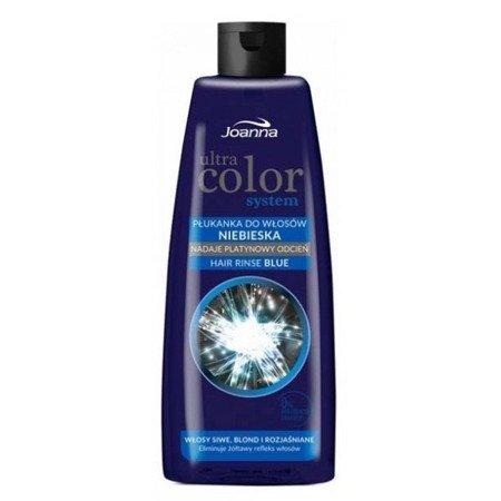 Joanna Ultra Color System Hair Rinse Blue Płukanka do Włosów Niebieska 150 ml