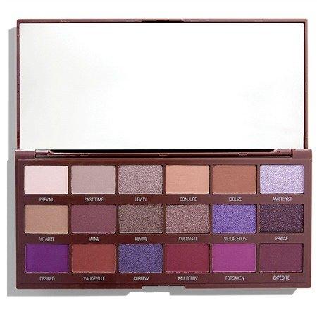 MAKEUP REVOLUTION Violet Chocolate Paleta Cieni do Powiek